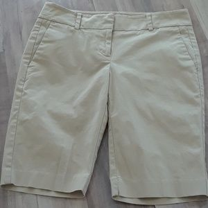 Ann Taylor Devin Boardwalk Shorts Coastal Beige